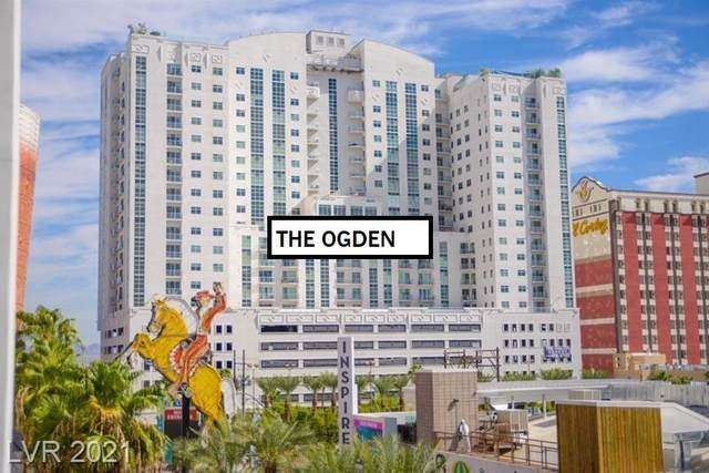 150 N Las Vegas Boulevard #1206, Las Vegas, NV 89101 (MLS #2275813) :: Jeffrey Sabel