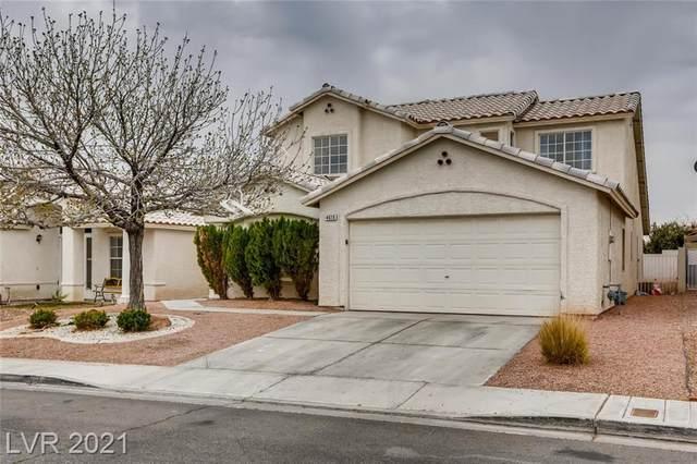 4615 Chestnut Blaze Drive, North Las Vegas, NV 89032 (MLS #2275840) :: Jeffrey Sabel