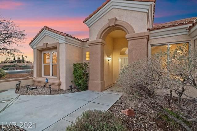 2329 Hot Brook Point Street, Las Vegas, NV 89134 (MLS #2275928) :: Jeffrey Sabel