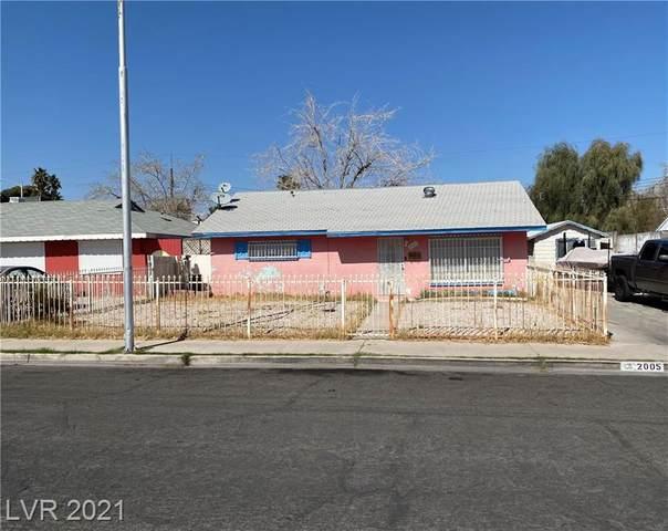 2005 Franklin Avenue, Las Vegas, NV 89104 (MLS #2275961) :: Jeffrey Sabel