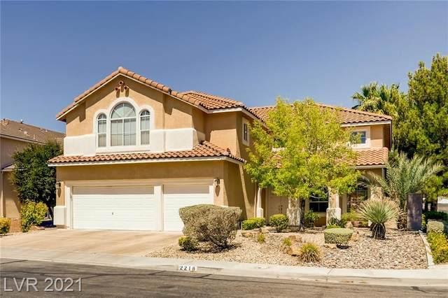2218 Midvale Terrace, Henderson, NV 89074 (MLS #2276028) :: Jeffrey Sabel