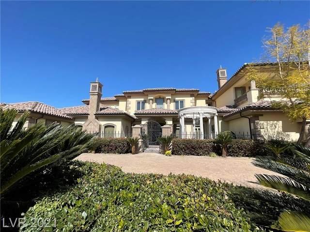 9508 Kings Gate Court, Las Vegas, NV 89145 (MLS #2276107) :: Signature Real Estate Group