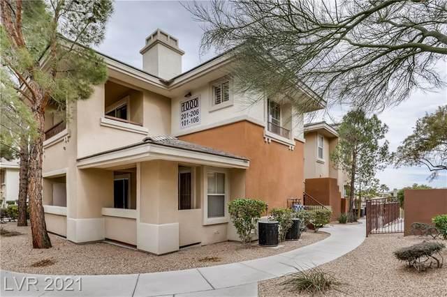 1000 Duckhorn Court #202, Las Vegas, NV 89144 (MLS #2276364) :: Signature Real Estate Group