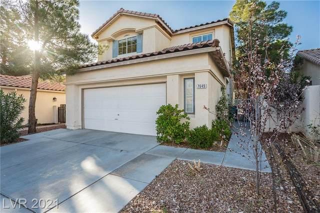 7649 Via Paseo Avenue, Las Vegas, NV 89128 (MLS #2276379) :: Hebert Group | Realty One Group