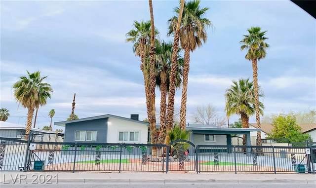 549 Oakey Boulevard, Las Vegas, NV 89104 (MLS #2276543) :: Hebert Group | Realty One Group