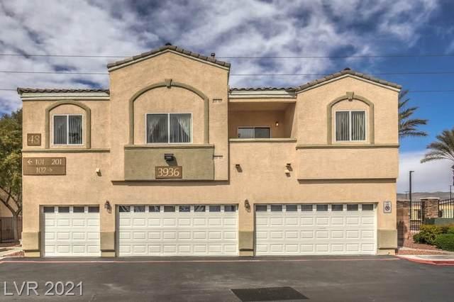 3936 Smokey Fog Avenue #201, North Las Vegas, NV 89081 (MLS #2277313) :: Lindstrom Radcliffe Group