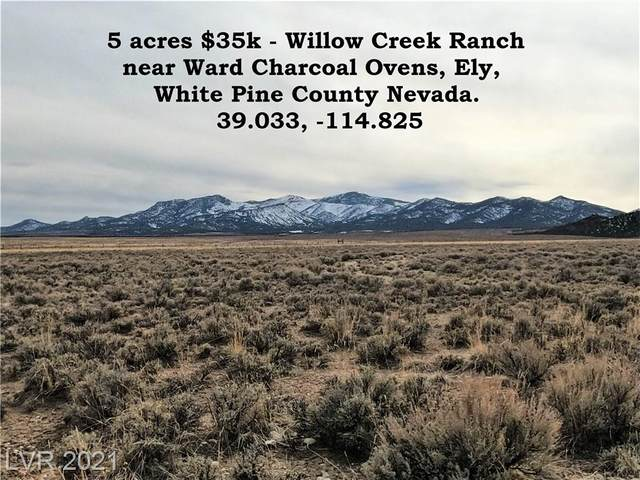 Parcel 2 Willow Creek Ranch, Ely, NV 89301 (MLS #2277582) :: Lindstrom Radcliffe Group