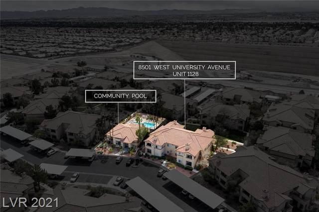 8501 University Avenue #1128, Las Vegas, NV 89147 (MLS #2277687) :: Signature Real Estate Group