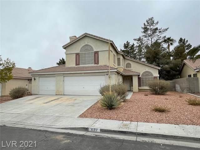 435 Lennox Drive, Las Vegas, NV 89123 (MLS #2277904) :: Jeffrey Sabel