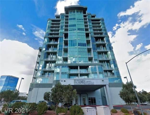 360 Desert Inn Road #503, Las Vegas, NV 89109 (MLS #2278094) :: The Shear Team