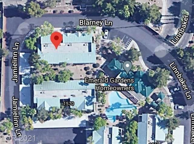 4201 Blarney Lane #203, Las Vegas, NV 89110 (MLS #2278397) :: Signature Real Estate Group