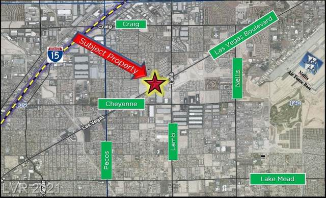 N. Las Vegas Blvd, Las Vegas, NV 89115 (MLS #2279073) :: Signature Real Estate Group