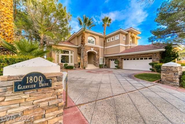 1800 Glenview Drive, Las Vegas, NV 89134 (MLS #2279249) :: Signature Real Estate Group