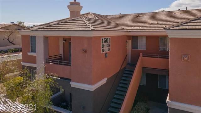 1501 Blackcombe Street #201, Las Vegas, NV 89128 (MLS #2280367) :: Signature Real Estate Group