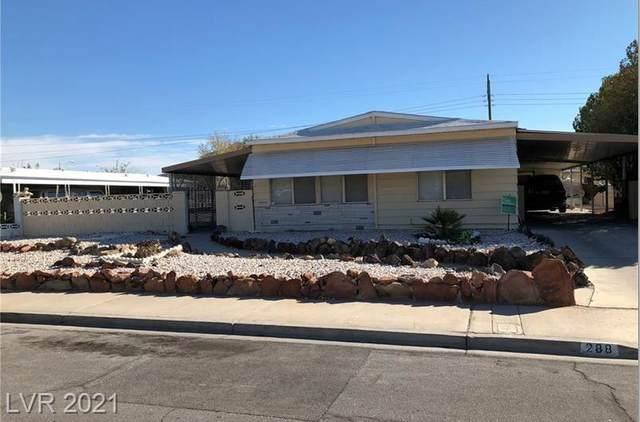 288 Sir William Way, Las Vegas, NV 89110 (MLS #2280785) :: Custom Fit Real Estate Group