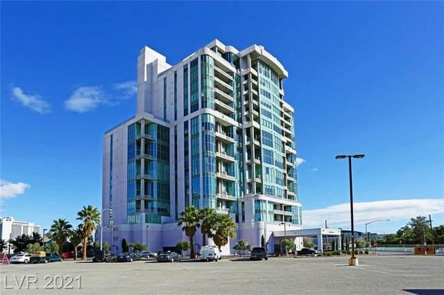 360 E Desert Inn Road #505, Las Vegas, NV 89109 (MLS #2281285) :: Custom Fit Real Estate Group