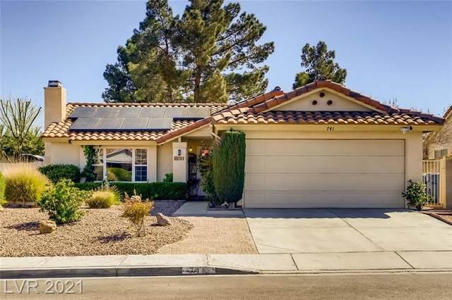 741 Irwindale Avenue, Las Vegas, NV 89123 (MLS #2281867) :: Jeffrey Sabel
