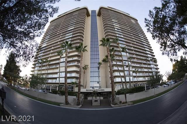 3111 Bel Air Drive 7F, Las Vegas, NV 89109 (MLS #2282109) :: Signature Real Estate Group