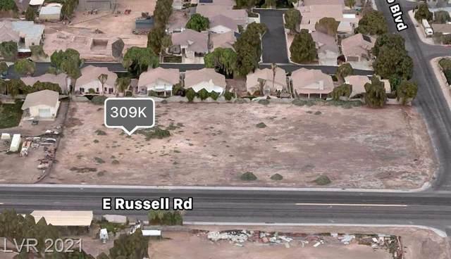 E Russell Road, Las Vegas, NV 89120 (MLS #2282214) :: Signature Real Estate Group