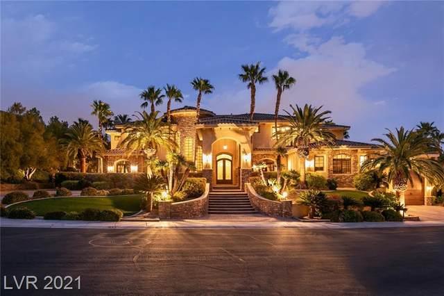 2540 Red Arrow Drive, Las Vegas, NV 89135 (MLS #2282466) :: Lindstrom Radcliffe Group