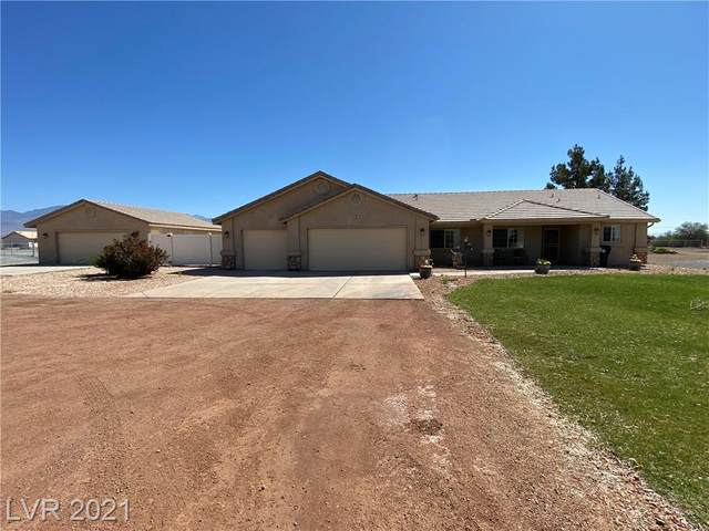 1361 Red Rock Drive, Pahrump, NV 89048 (MLS #2282656) :: Signature Real Estate Group