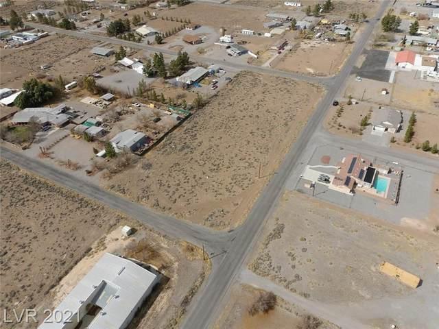2550 W Hardy Lane, Pahrump, NV 89048 (MLS #2282831) :: Galindo Group Real Estate