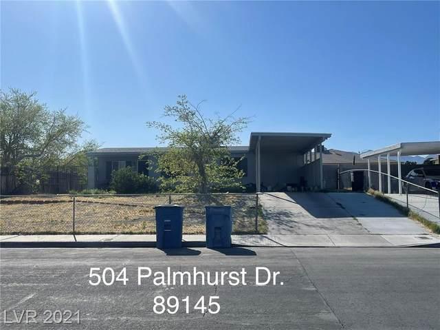 504 Palmhurst Drive, Las Vegas, NV 89145 (MLS #2282872) :: Vestuto Realty Group
