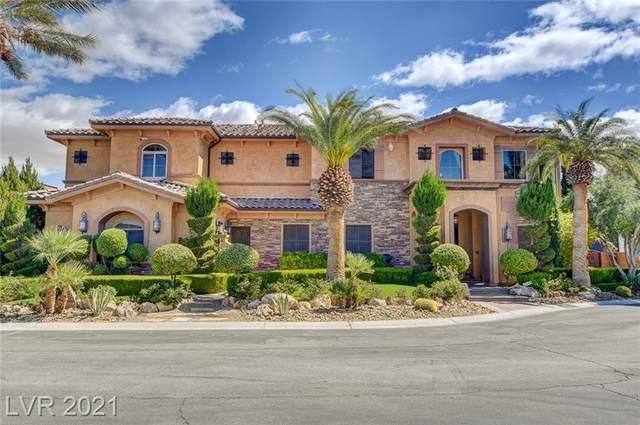 8455 Stange Avenue, Las Vegas, NV 89129 (MLS #2283320) :: Team Michele Dugan