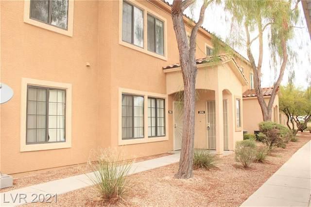 2151 Hussium Hills Street #206, Las Vegas, NV 89108 (MLS #2283398) :: Signature Real Estate Group