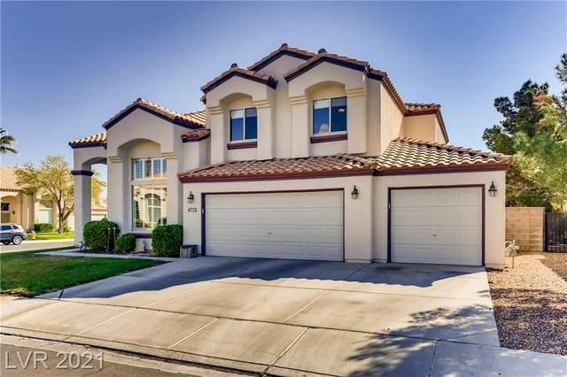 4712 Compass Bow Lane, Las Vegas, NV 89130 (MLS #2283563) :: Signature Real Estate Group