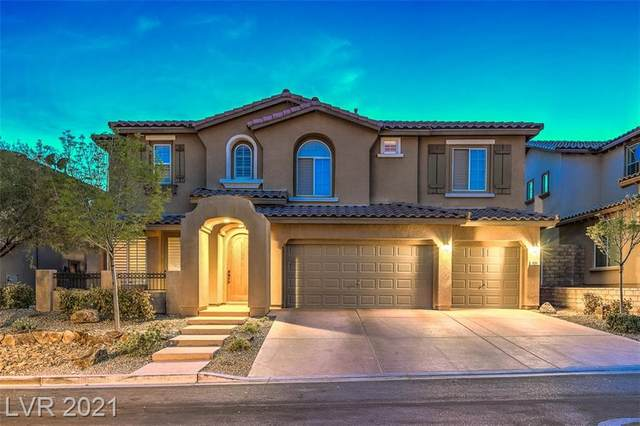 521 Puenta Del Rey Street, Las Vegas, NV 89138 (MLS #2283786) :: Custom Fit Real Estate Group