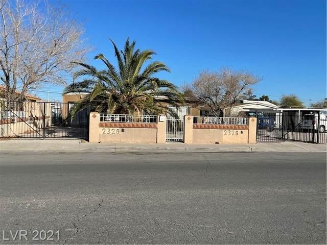 2326 Bassler Street, North Las Vegas, NV 89030 (MLS #2283798) :: Signature Real Estate Group