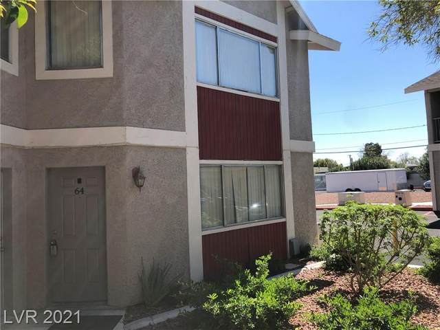 100 Crestline Drive #64, Las Vegas, NV 89107 (MLS #2283812) :: Signature Real Estate Group