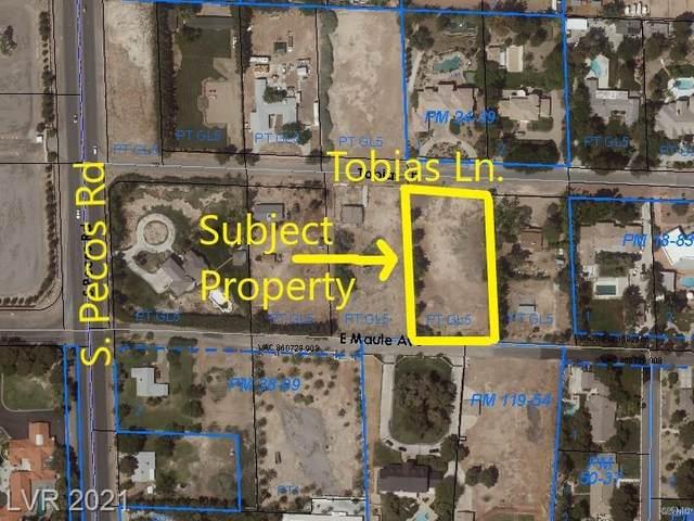 3525 Tobias Lane, Las Vegas, NV 89178 (MLS #2283956) :: Lindstrom Radcliffe Group