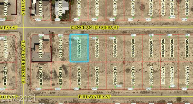 1071 Enchanted Mesa Street, Pahrump, NV 89048 (MLS #2284066) :: Signature Real Estate Group