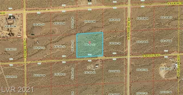 2400 Kelly Way, Pahrump, NV 89060 (MLS #2284159) :: Signature Real Estate Group