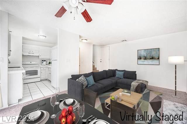 5029 Spencer Street D, Las Vegas, NV 89119 (MLS #2284181) :: Signature Real Estate Group