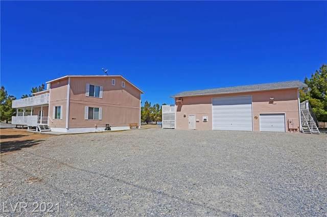 1160 W Huracan Street, Pahrump, NV 89048 (MLS #2284352) :: Signature Real Estate Group