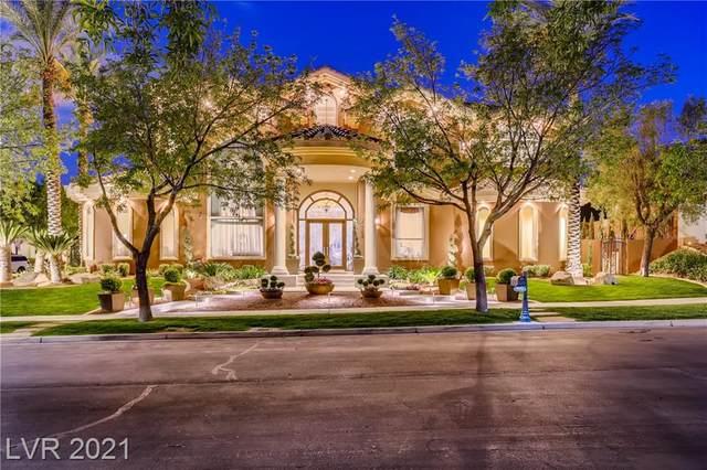 1432 Iron Hills Lane, Las Vegas, NV 89134 (MLS #2284450) :: Galindo Group Real Estate