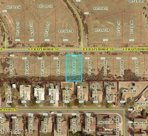 5891 S Crazyhorse Street, Pahrump, NV 89061 (MLS #2284563) :: Lindstrom Radcliffe Group
