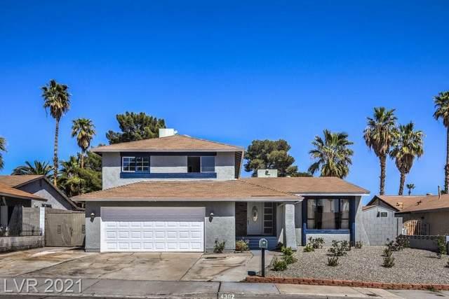 4302 Chrysalis Drive, Las Vegas, NV 89121 (MLS #2284911) :: Signature Real Estate Group