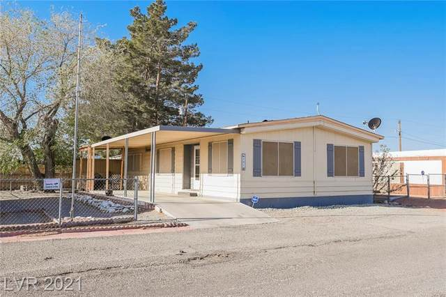 301 Duck Creek Road, Pahrump, NV 89048 (MLS #2284939) :: Signature Real Estate Group