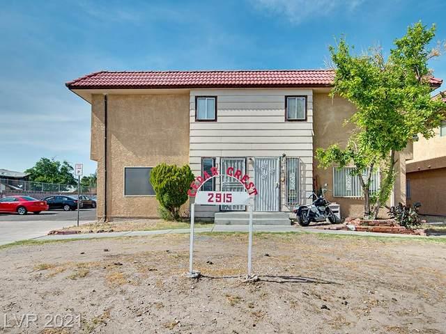 2915 Cedar Street 11C, Las Vegas, NV 89101 (MLS #2284941) :: Kypreos Team