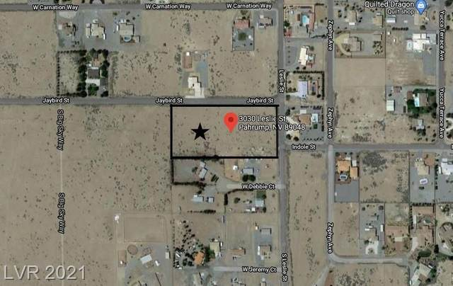 3030 Leslie Street, Pahrump, NV 89048 (MLS #2285042) :: Signature Real Estate Group