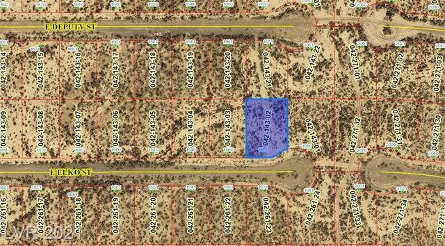 1970 Elko Street, Pahrump, NV 89060 (MLS #2285051) :: Signature Real Estate Group