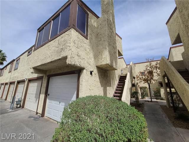 5009 Spencer Street A, Las Vegas, NV 89119 (MLS #2285375) :: Signature Real Estate Group