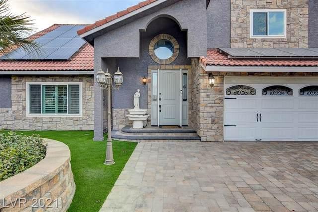 6480 Bristlecone Circle, Las Vegas, NV 89146 (MLS #2285804) :: Signature Real Estate Group