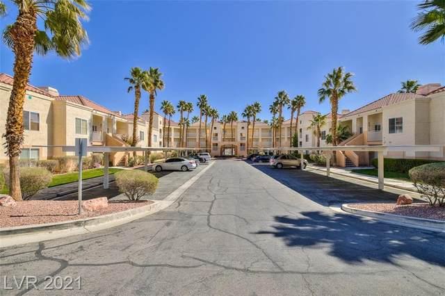 5000 Red Rock Street #205, Las Vegas, NV 89118 (MLS #2285828) :: Jeffrey Sabel