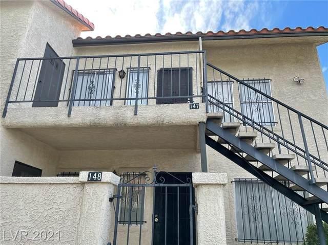 3603 Di Salvo Drive #147, Las Vegas, NV 89103 (MLS #2285837) :: Signature Real Estate Group