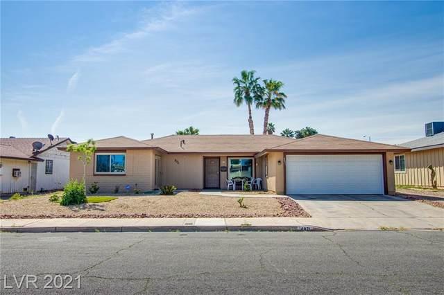4871 Plata Del Sol Drive, Las Vegas, NV 89121 (MLS #2285848) :: Signature Real Estate Group